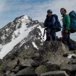 2018 春山 明神岳東稜